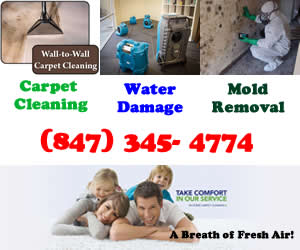 Carpet Cleaning, Water Damage, Mold Removal Lake Zurich, Kildeer, Deer Park