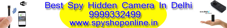 Best Spy Hidden Camera In Delhi 9999332499