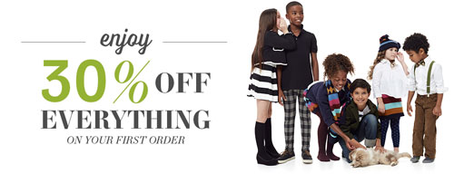 Clothing for Kids - 30% off