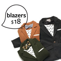 Boys Blazers- Shop Now